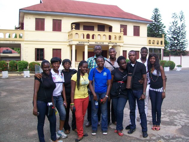 BBA & Advance DiplomaTourism Students @Manhyia Palace Museum